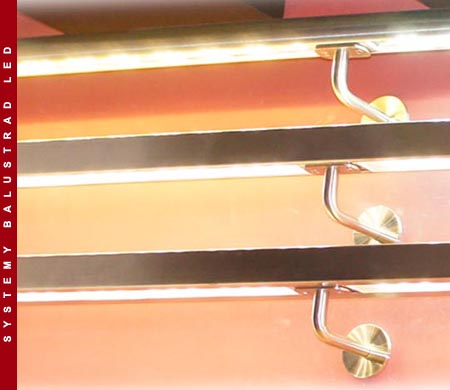 Balustrades illuminated ES-LIGHT