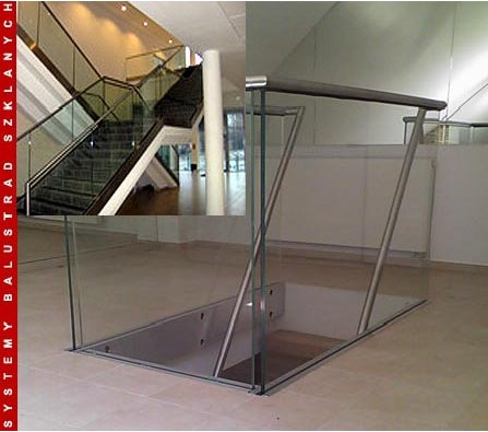 ESKATT BALUSTRADES ES-GLASS-SUPPORTING-2500