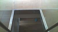 Glass railing ES-GLASS-PROFIL 1000