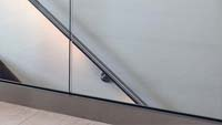 Glass railing ES-GLASS-PROFIL 2500