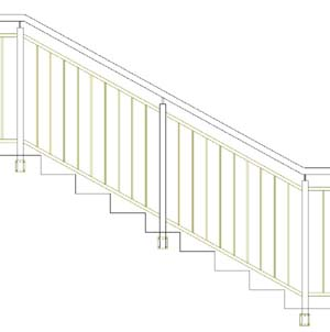 Balustrades ES-SENDER-LINE-SIDE-SATIN