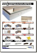 Folders railings cantilevered ES-GLASS-PROFIL-3000